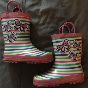Other - Laura Ashley Toddler Girl Rain Boots